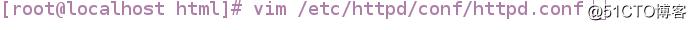 Linux中Apache web服务