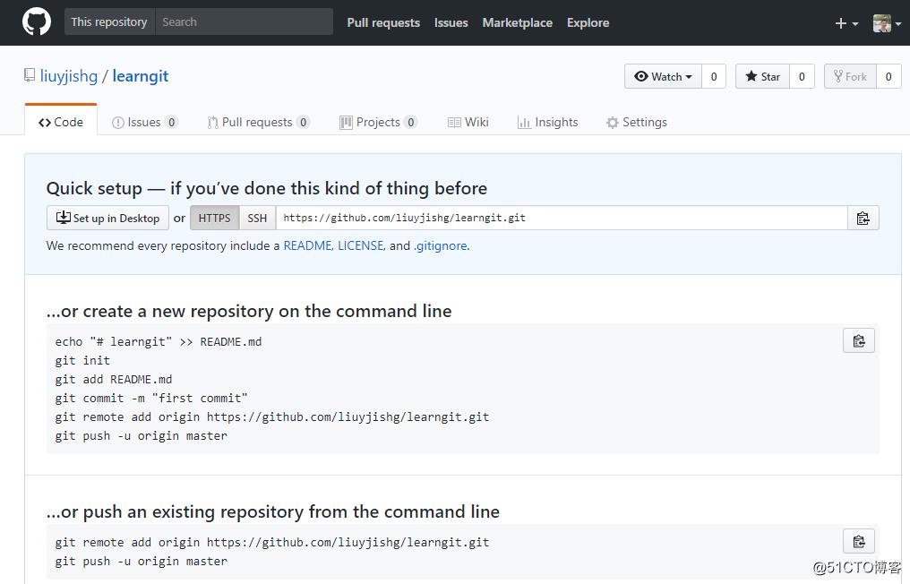 Git版本工具的部署与使用