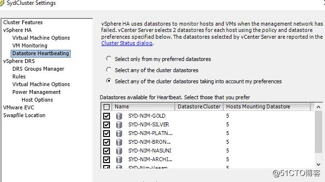 Vmware迁移datastore注意事项