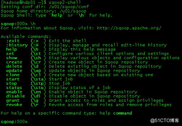 Installing Sqoop2 On Oracle Linux 7.4