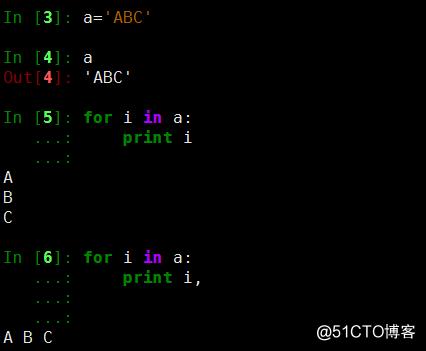 流程控制-for序列、流程控制-for字典