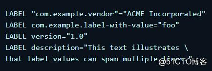 docker-4-Dockerfile配置文件详解