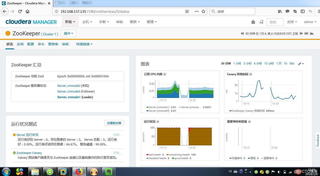 4台VM安装CDH5大数据平台