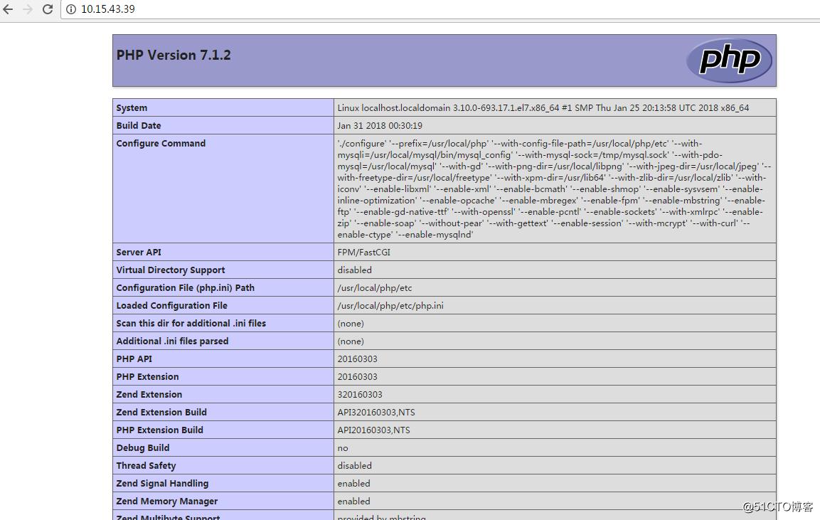 CentOS7编译安装LNMP