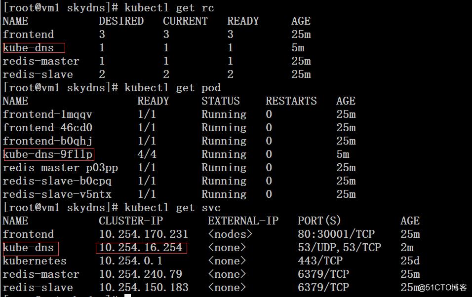 kubernetes集群配置dns服务