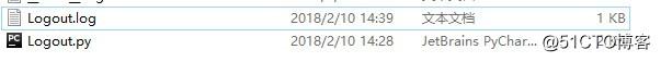 python logging模块打印log到指定文件