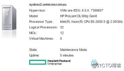 ESXi 6 升级到ESXi 6.5VIB冲突问题
