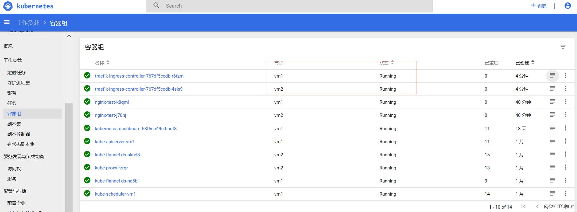 Kubernetes 1.9集群使用traefik发布服务
