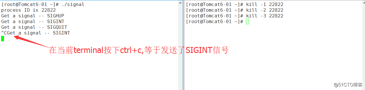 linux信号解释(4)--C语言下的理解