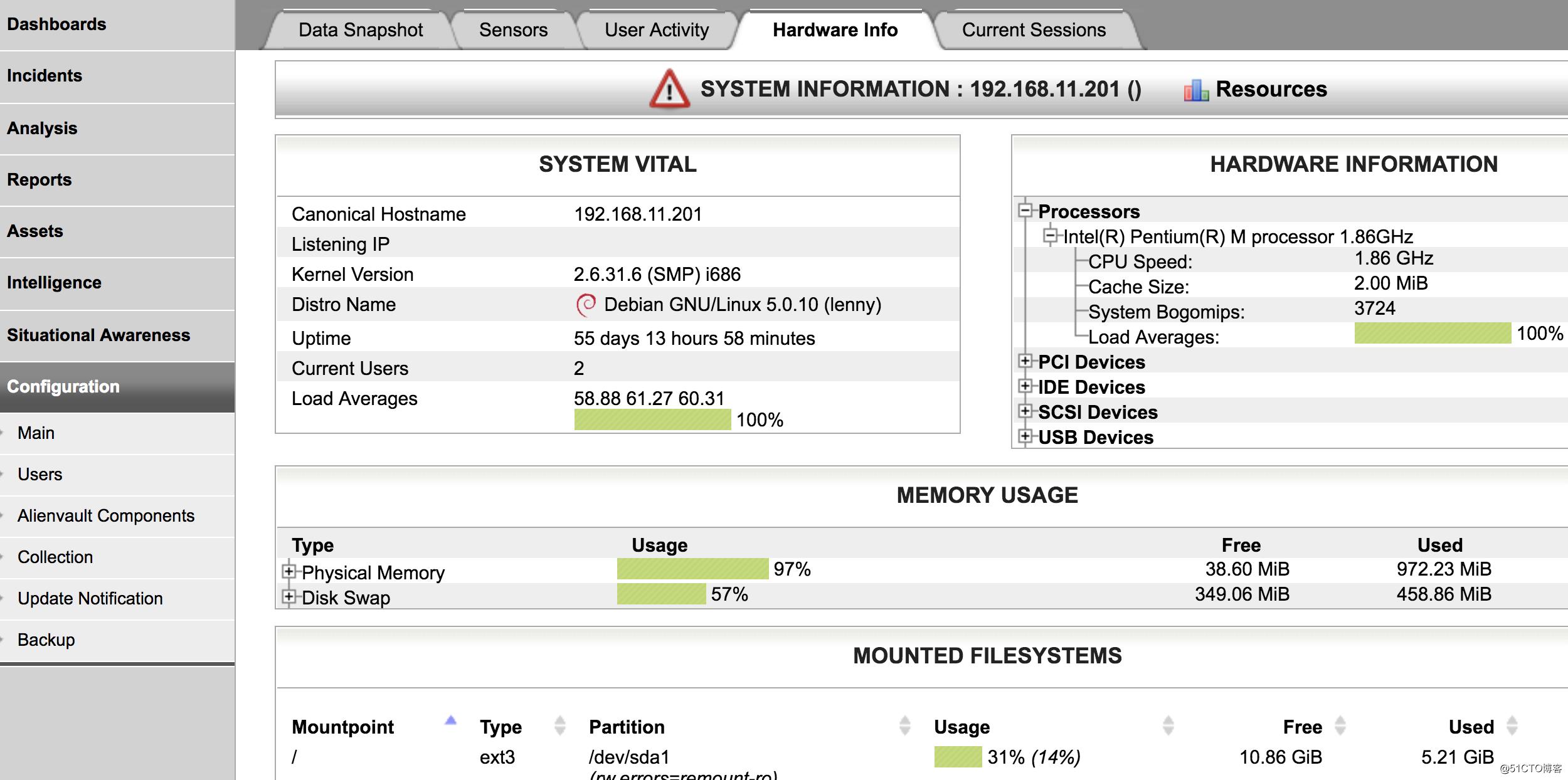 低配置也玩儿 OSSIM