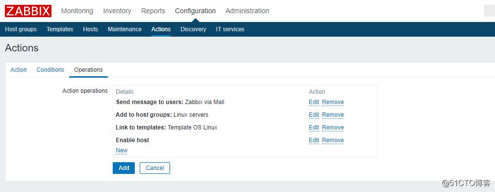 Zabbix 3.0 配置自动发现(Discovery)