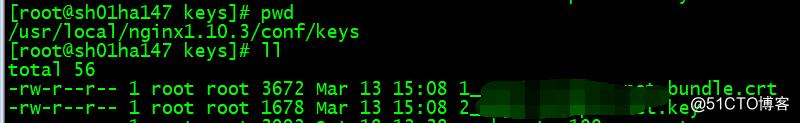 nginx负载均衡配置https