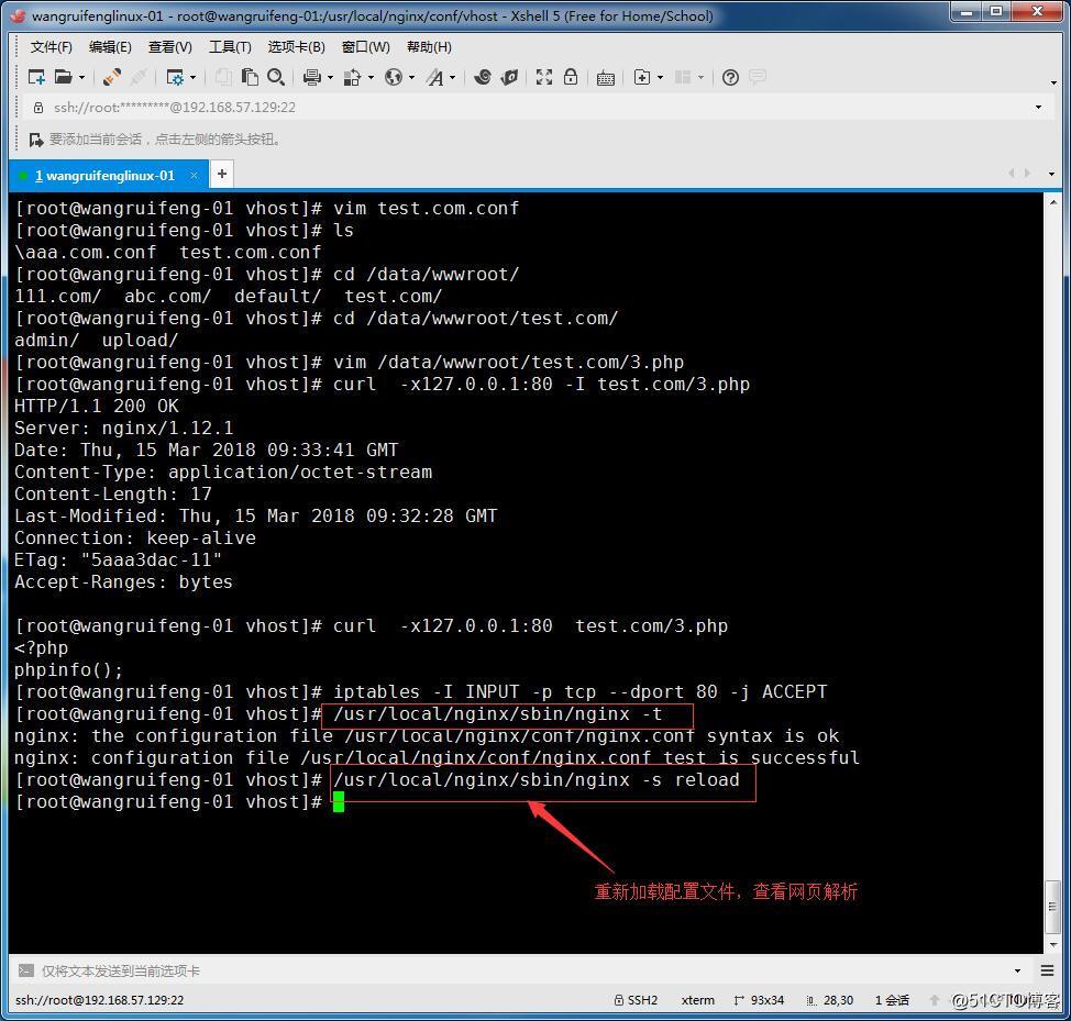 Nginx的防盗链、Nginx的访问控制、Nginx解析php的配置、Nginx代理