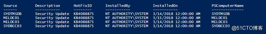 PowerShell 查找删除Windows补丁文件