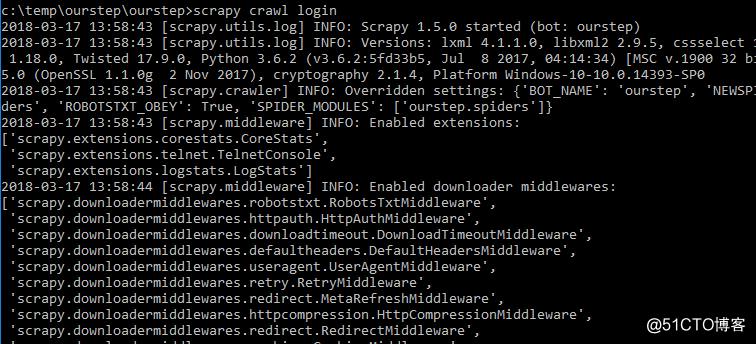 Scrapy 进行简单的自动登录