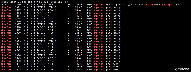 php-fpm的pool php-fpm慢执行日志 open_basedir php-fpm进程管理
