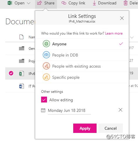 SharePoint Online和外网用户共享资源