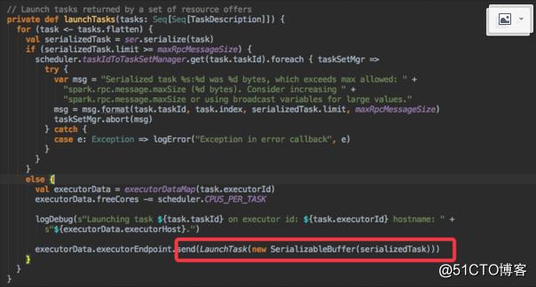 spark DAGScheduler、TaskSchedule、Executor执行task源码分析