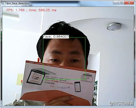 OpenCV基于残差网络实现人脸检测