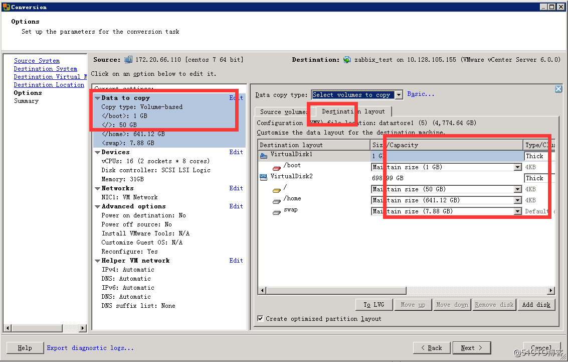 VMware vCenter Converter迁移Linux系统虚拟机