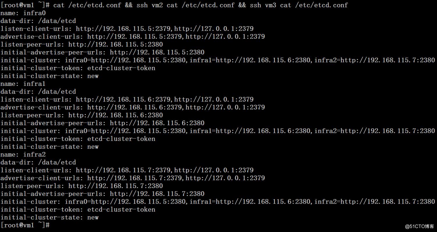配置Etcd集群和TLS认证