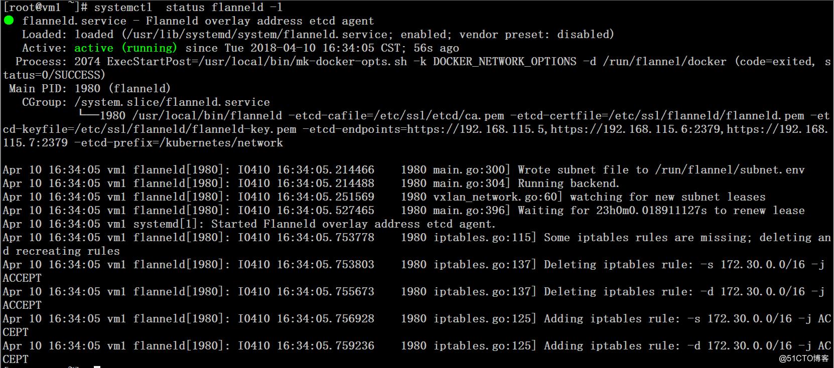 Flannel网络组件部署