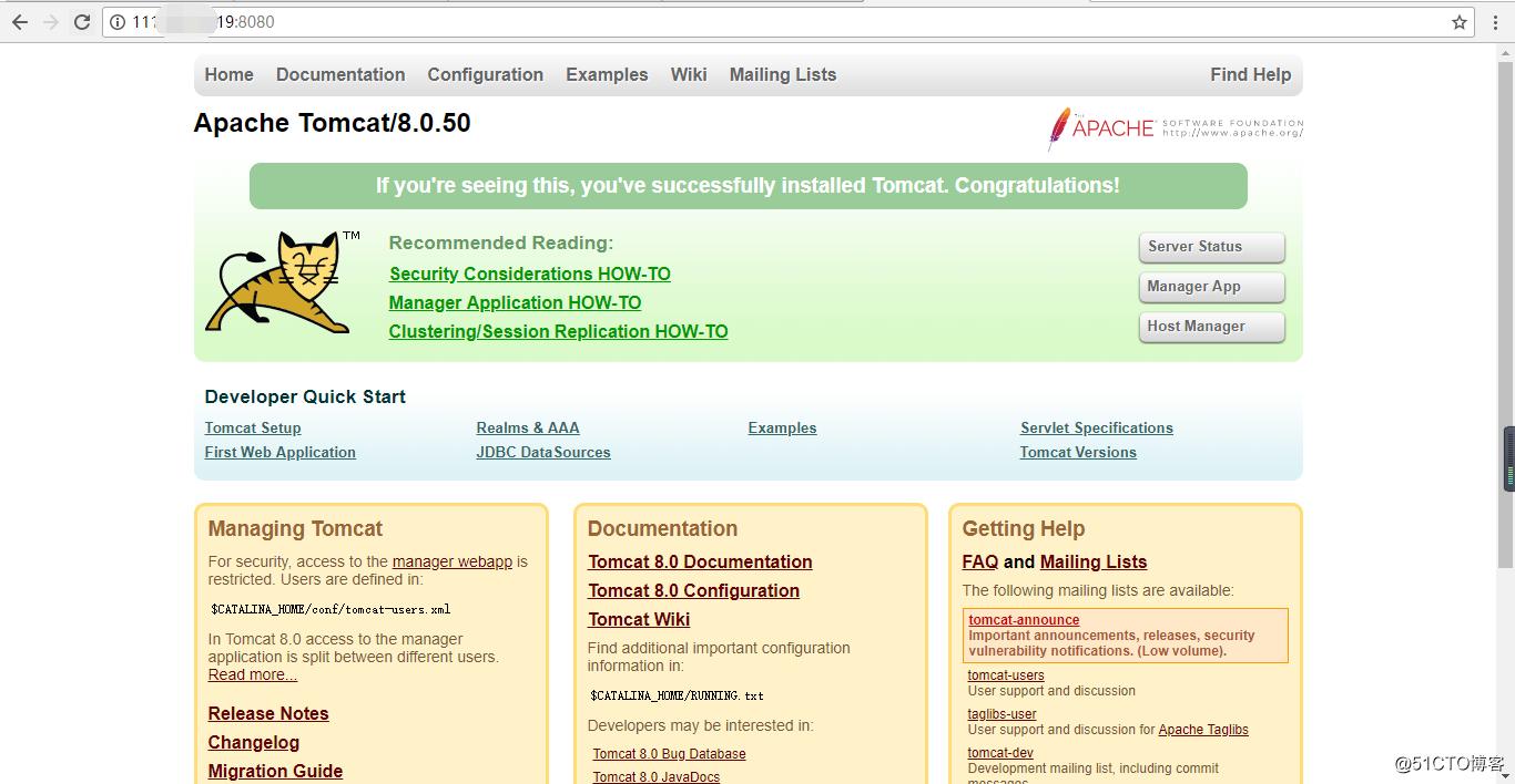 快速安装Tomcat 并实现HTTPS访问