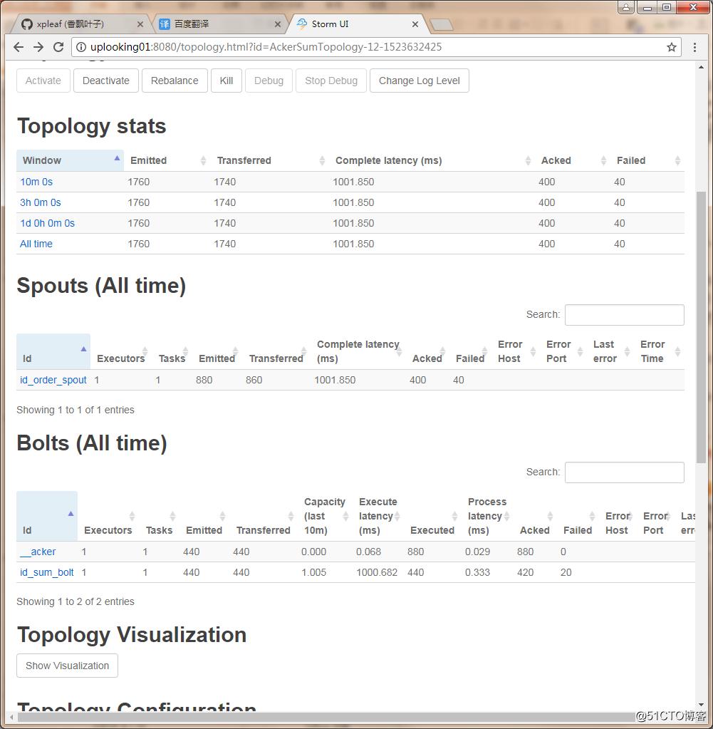 Storm笔记整理(五):可靠性分析、定时任务与Storm UI参数详解