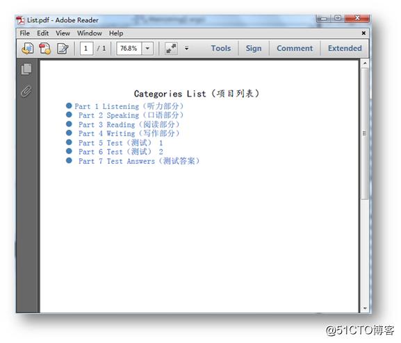 C#/VB.NET 创建PDF项目符号列表和多级编号列表