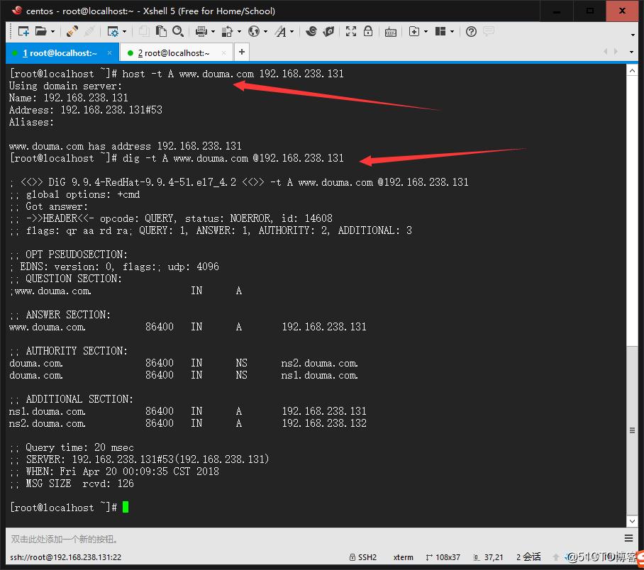 DNS正向反向解析与主从复制