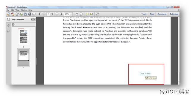 C# PDF Page操作——设置页面切换按钮