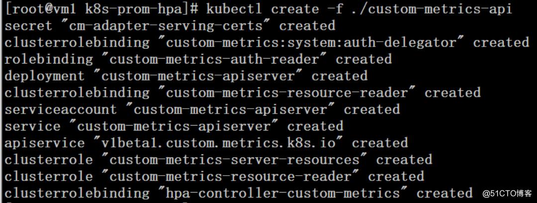 K8S集群使用自定义metrics指标HPA测试
