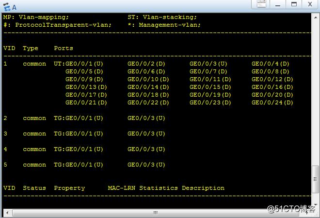 配置MSTP及负载均衡