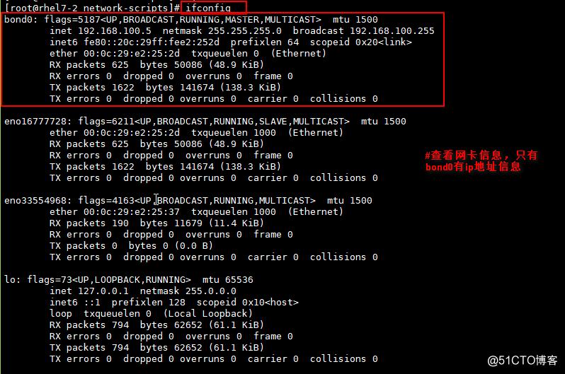 Linux下Bond技术实现平衡负载
