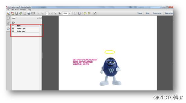 C# 操作PDF 图层(Layer)——添加、删除图层、设置图层可见性
