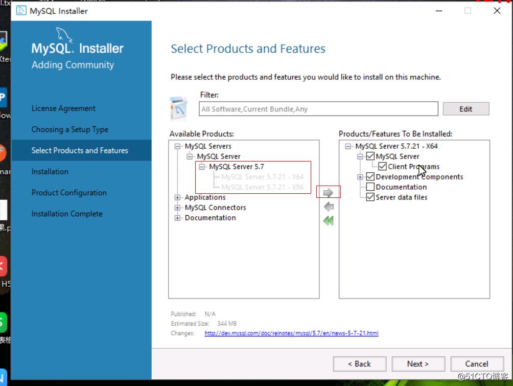 Windows下通过MySQL Installer安装MySQL服务
