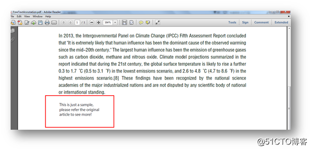 C# 添加PDF注释(5种类型)