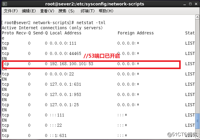 Linux系统安装DNS正向解析服务