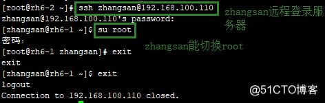 Openssh远程访问及控制