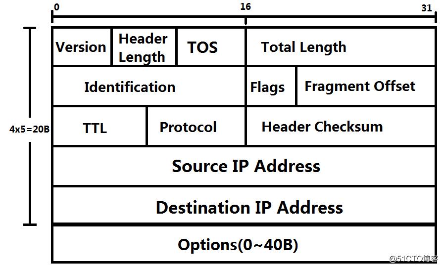 IP报头及IP地址