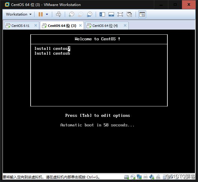 pxe+kickstart进行多版本系统安装