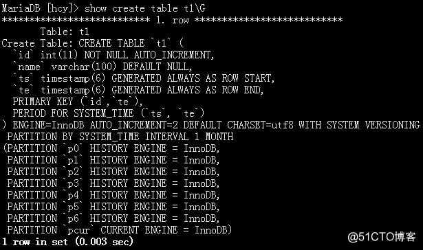 MariaDB10.3 系统版本表 有效防止数据丢失