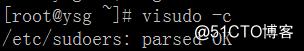 Linux常用命令——visudo