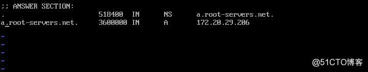 模拟DNS网络访问正向解析