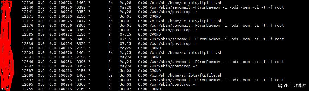 由ftp传输脚本引发的服务器内存问题