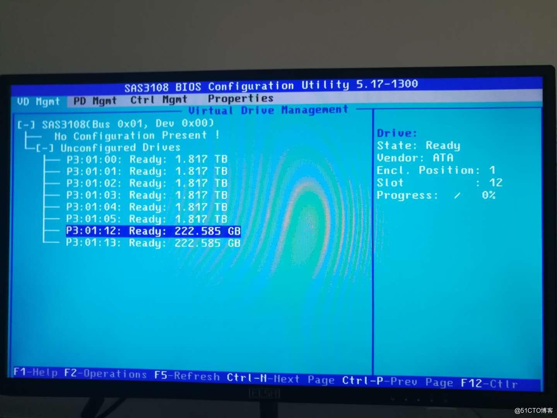 在华为RH2288HV3上部署RAID