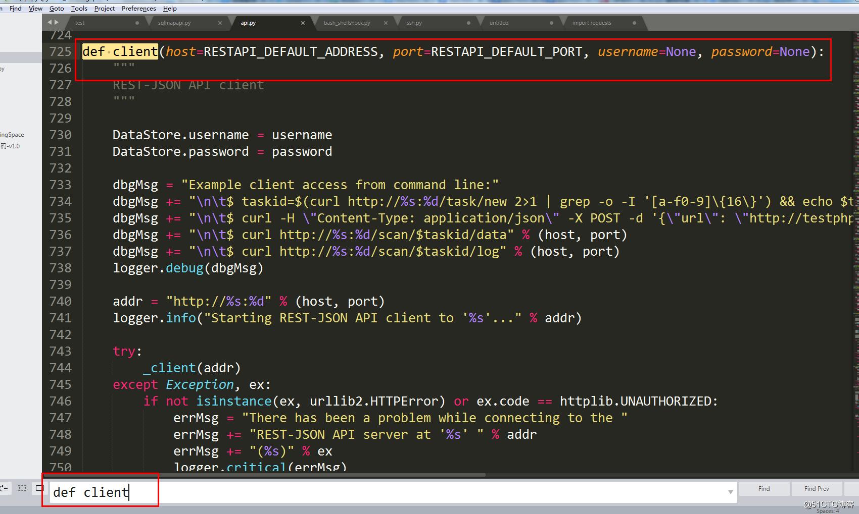阅读sqlmap源代码,编写burpsuite插件--sqlmapapi