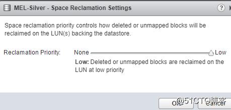 ESXi 的Guest OS 如何从LUN上释放空间