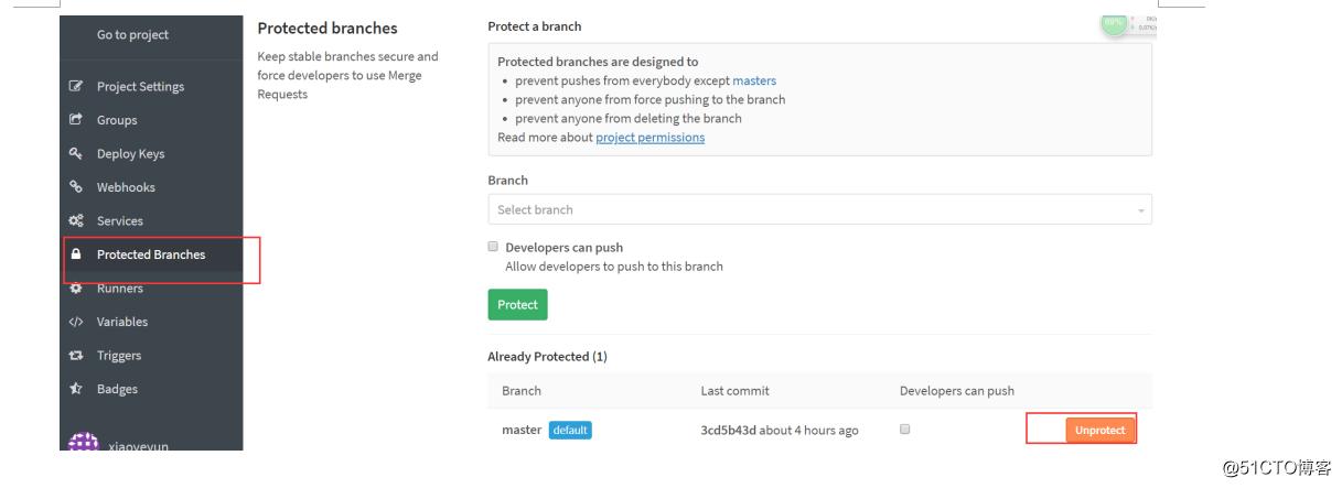 【Gitlab】GIT回滚master分支到指定tag版本 并提交远程仓库