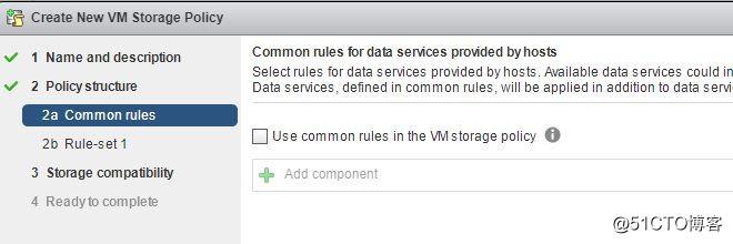 ESXi 6.5 配置Storage Policy